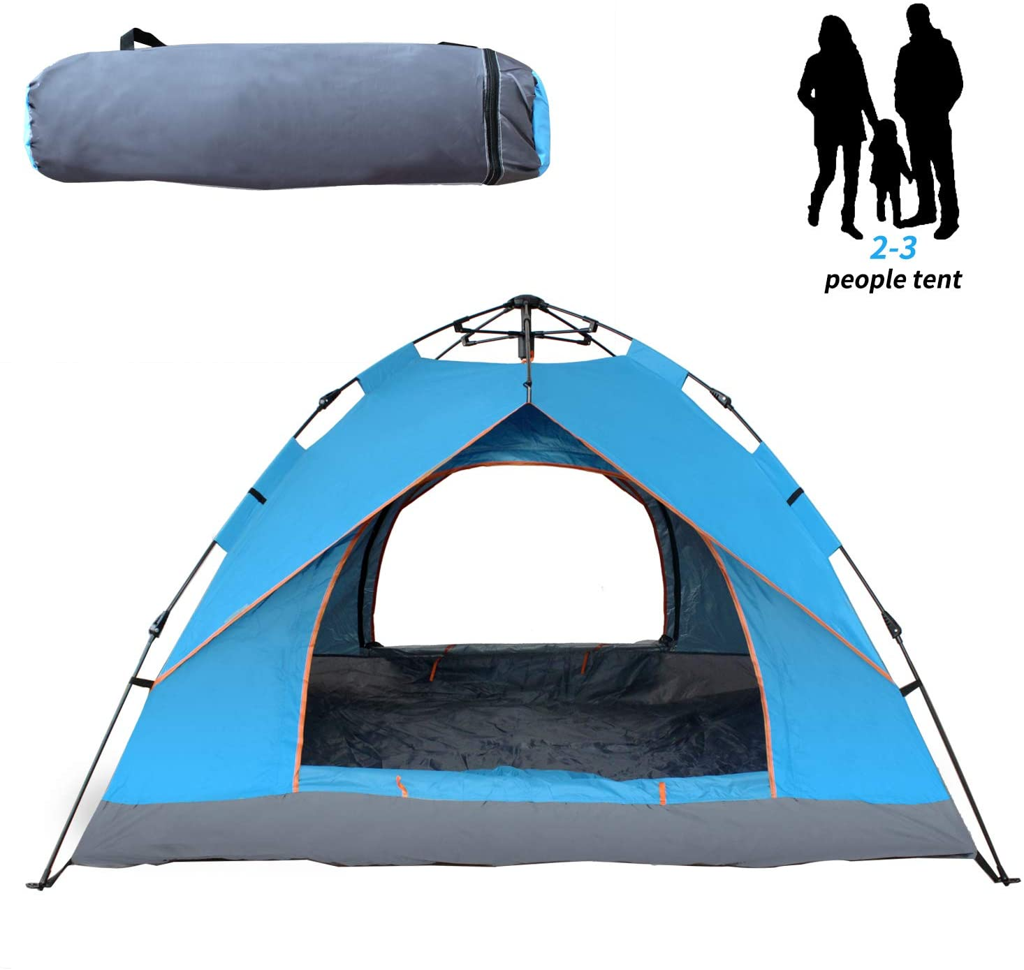 Three unique and popular types of family tents for camping shared!